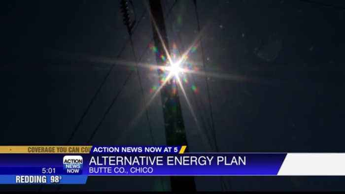 Alternative energy plan for Butte County