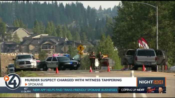 Drive-by shooting suspect under investigation for threatening witness