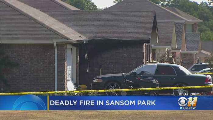 1 Dead, 3 Injured In House Fire In Sansom Park