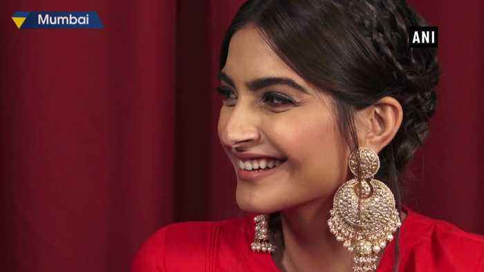 Sonam Kapoor, Dulquer Salmaan promote upcoming film The Zoya Factor