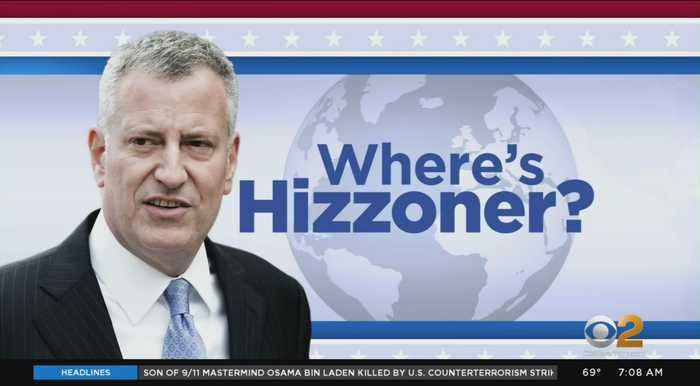 Where's Hizzoner?: Sept. 15, 2019