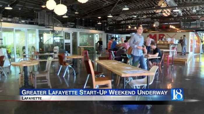Greater Lafayette start-up weekend underway