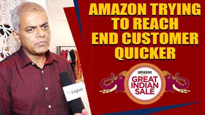 AMAZON IS SEEING NO SIGNS OF SLOWDOWN : Manish Tiwary,Vice President Amazon India