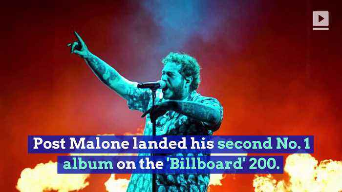 Post Malone Tops 'Billboard' 200 With 'Hollywood's Bleeding'