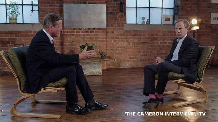 Cameron: Boris chose career over beliefs to back Brexit