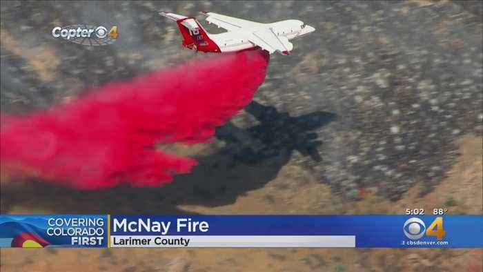 McNay Fire Forces Voluntary Evacuations Near Red Feather Lakes