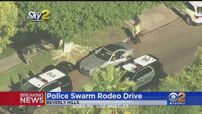 Police Swarm Beverly Hills Residence After Man Breaks-In