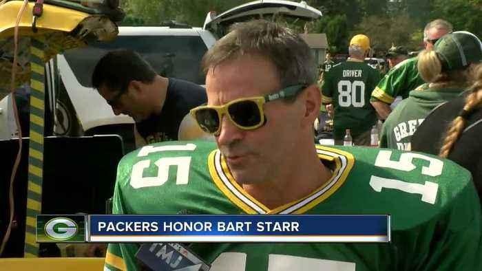 Bart Starr Honored