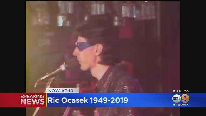 Music Community Mourns Ric Ocasek Of The Cars