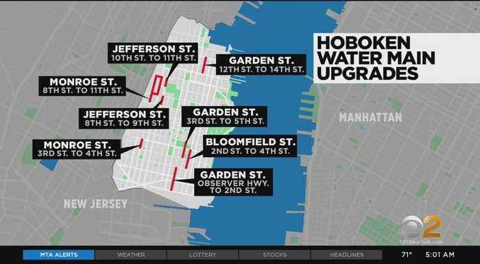 Hoboken To Begin Installing New Water Mains Today