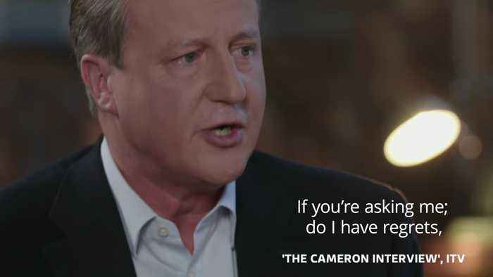 David Cameron sorry for the state of the country after EU referendum