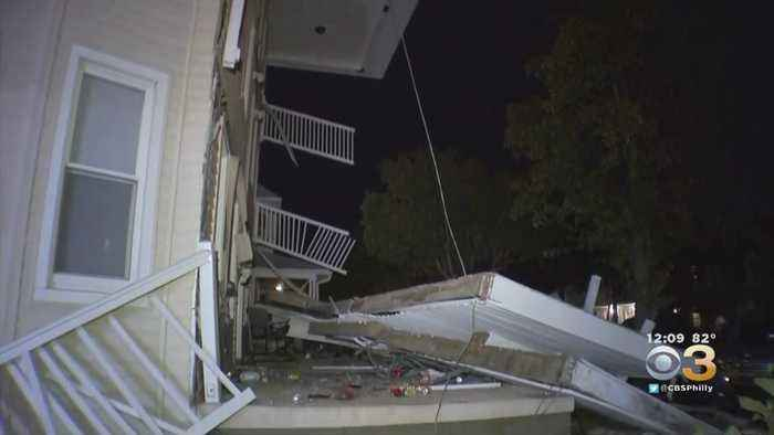 Crews Expected Back At Scene Of Wildwood Deck Collapse