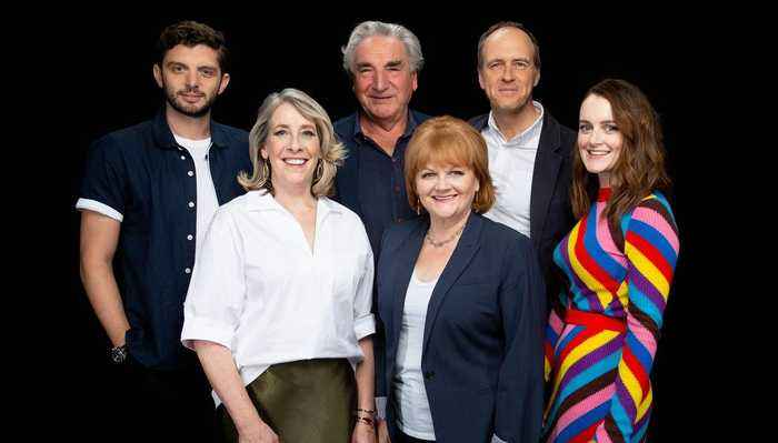 The Cast Of The Popular 'Downton Abbey' Series Chats About Their Highly-Anticipated Movie