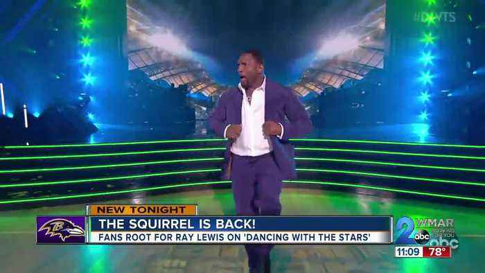 Fans cheer for former Raven Ray Lewis on 'Dancing With The Stars'