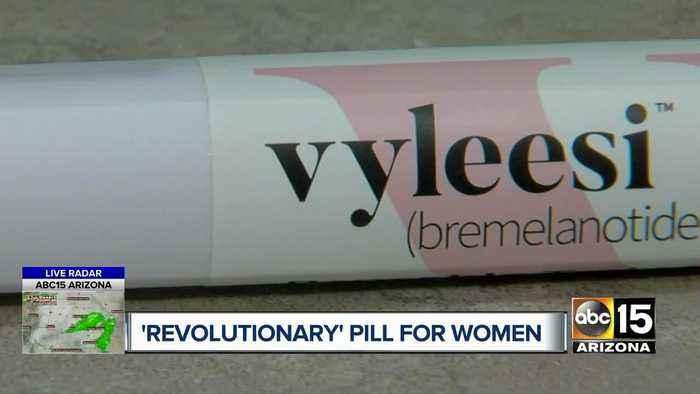 New revolutionary 'pink pill' for women