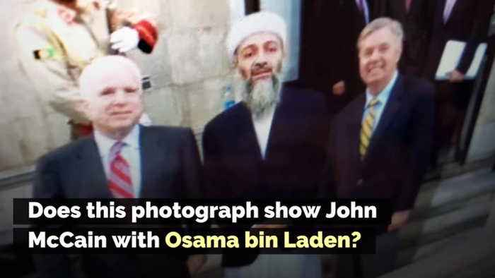 Does This Photograph Show John McCain with Osama bin Laden?