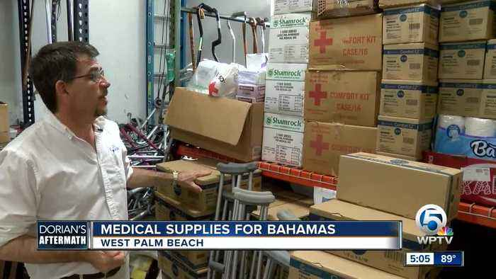 Local medical professionals stepping in to help Bahamians impacted by Dorian