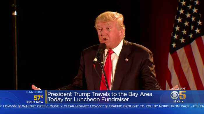 Few Details Made Public As Trump Visits Bay Area For Fundraiser