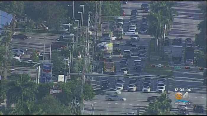 Miami-Dade Fire Rescue Stop Gas Leak In Doral