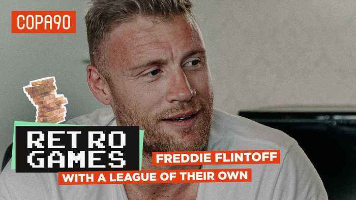 'I Used To Play Centre-Half, But I'm Rubbish!' | Retro Games with Freddie Flintoff 🕹