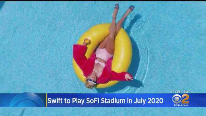 Taylor Swift To Christen SoFi Stadium Next Summer
