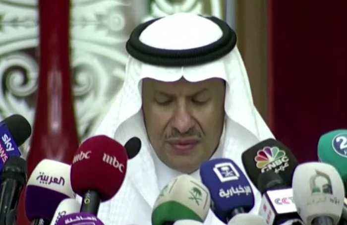 Saudi oil production back on line -energy minister