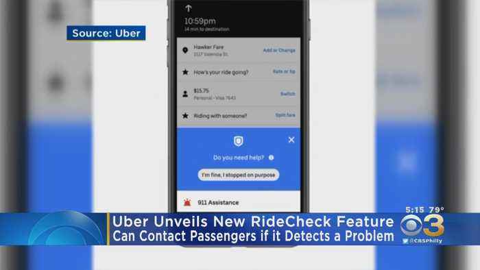 Uber Rolls Out New Safety Feature To Protect Passengers