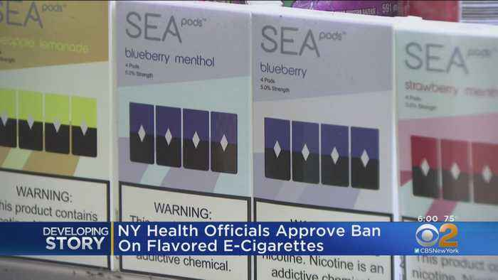 New York State Health Officials Approve Ban Of Flavored E-Cigarette Sales