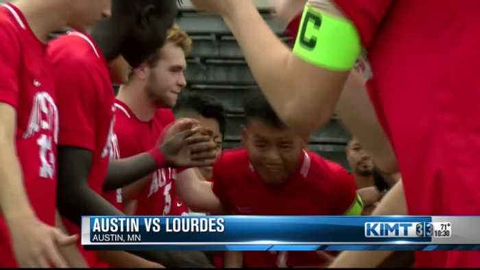 Austin downs Lourdes in section title rematch