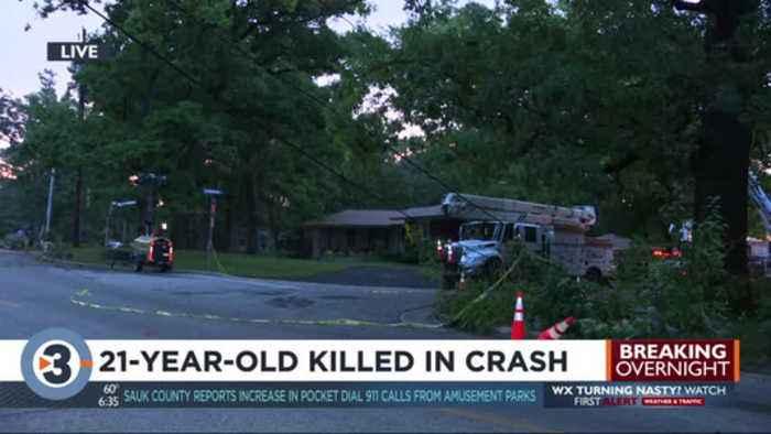Madison man killed in crash in Monona