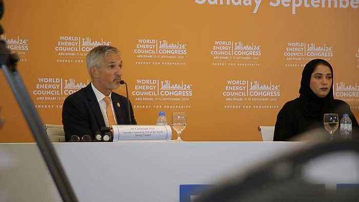 "Energy ""Trilemma"" Debated at World Energy Congress in Abu Dhabi"