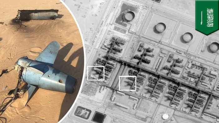Saudi oil attack drones and missiles launched from Iran