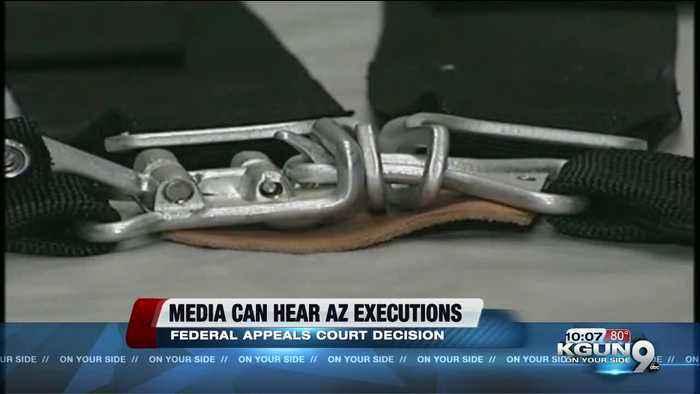 Media should hear Arizona executions, US appeals court rules