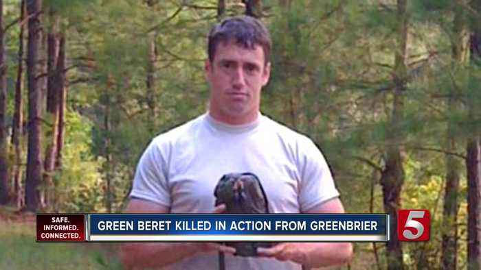Green Beret from Tennessee killed in action while in Afghanistan
