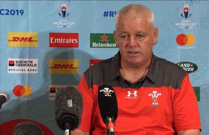 Howley exit could bring shocked Wales together, says Gatland