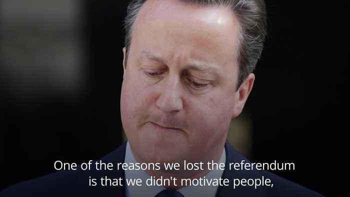 David Cameron: Sometimes I'd turn around and wonder where Jeremy Corbyn was