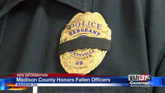Madison County honors fallen officers