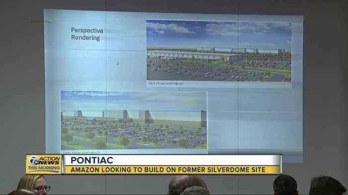 Amazon unveils plan for warehouse on Pontiac Silverdome site