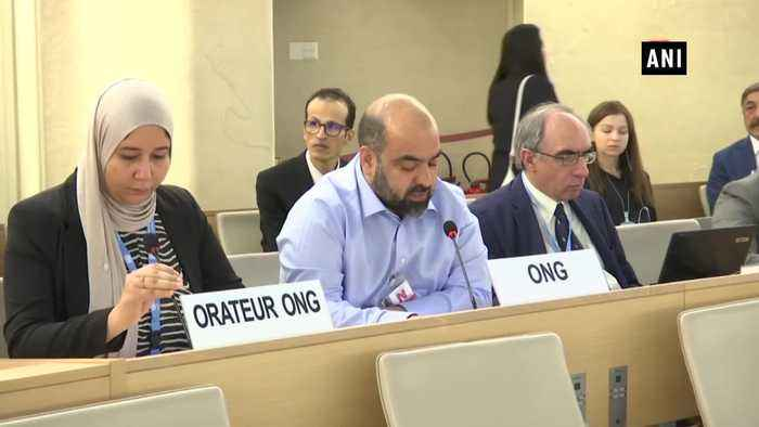 Pak providing support to terrorist groups in Afghanistan claims activist at UNHRC
