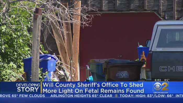 Update Coming On Discovery Of 2,200 Fetal Remains In WIll County