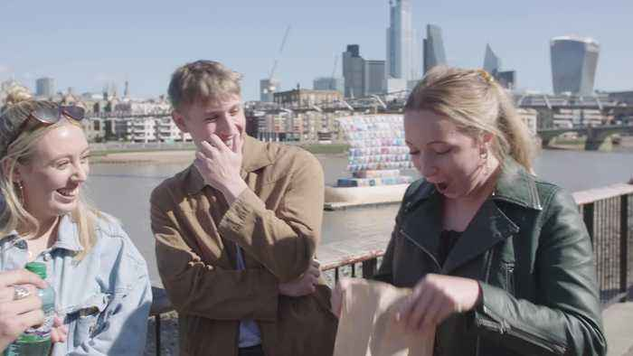 Britain's Got Talent magician shows off magic tricks in London