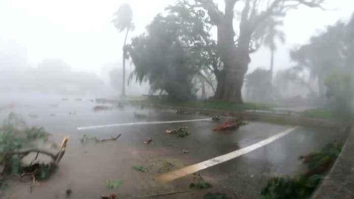 Hurricane Humberto Leaves Bermuda In The Dark