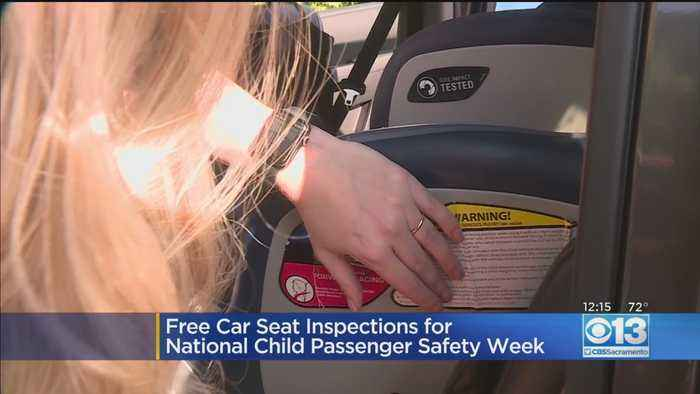 Free Car Seat Inspections For National Child Passenger Safety Week