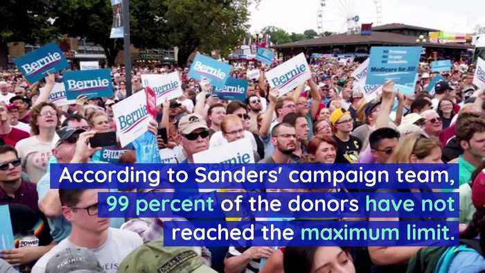 Bernie Sanders Has Received Campaign Donations From 1 Million People