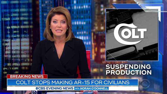 Colt halting production of AR-15 and other rifles for civilian market