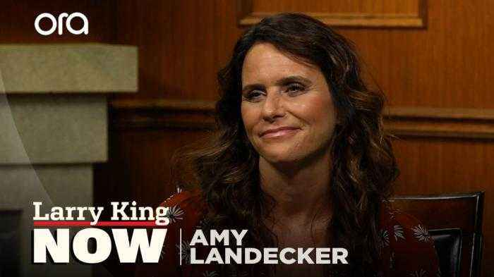'It's not a good use of our political capital': Amy Landecker talks abortion laws