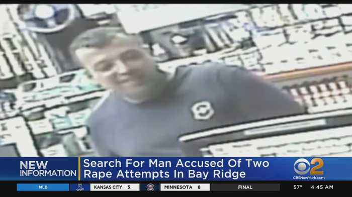 Man Sought In 2 Attempted Rapes