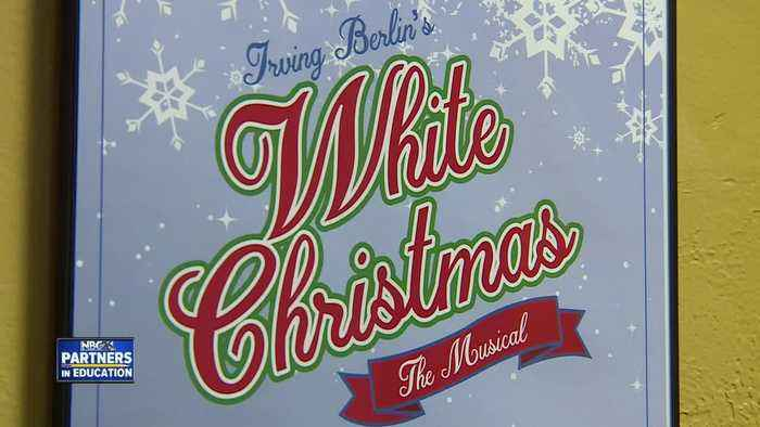 White Christmas musical at Green Bay East High School