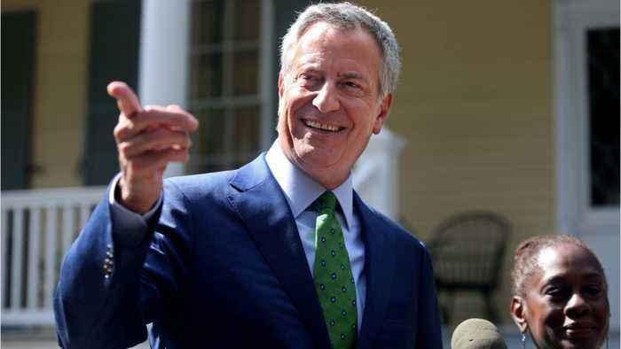 New York Mayor Bill de Blasio Pulls Out Of 2020 Presidential Race