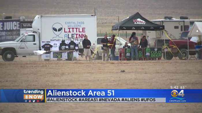 Alienstock: A 4-Day Music Festival Outside Area 51